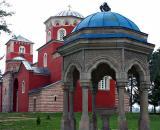Font and Church, Žiča Monastery
