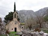 Chapel in the hills above Kotor