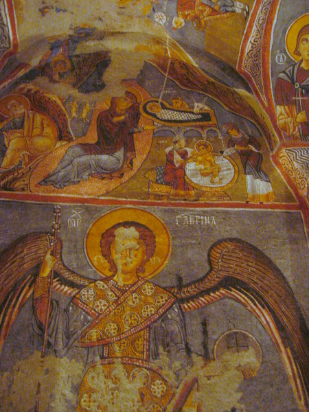 Goreme - The Dark Church (Karanlik Church) frescos
