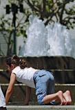 Yerba Buena fountain taking a break 03