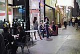 night scene off Union Square