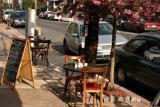 A Sidewalk Café