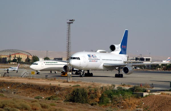 There are lots of Lockheed L-1011s in Amman