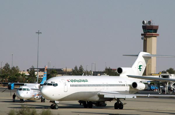 An actual functioning Iraqi Airways 727 at AMM