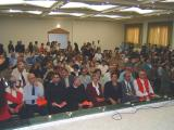 Audience at the Dedication of the New High School Building - 2003