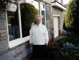 Sr. Mary Jeanne Outside Emm House in Swansea, Wales, UK