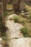 038 Jerash, fragments of mosaic