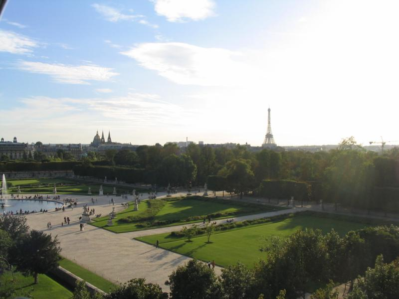 Tuileries and Eiffel Tower