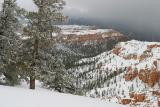 Approaching Winter Storm, Bryce Canyon