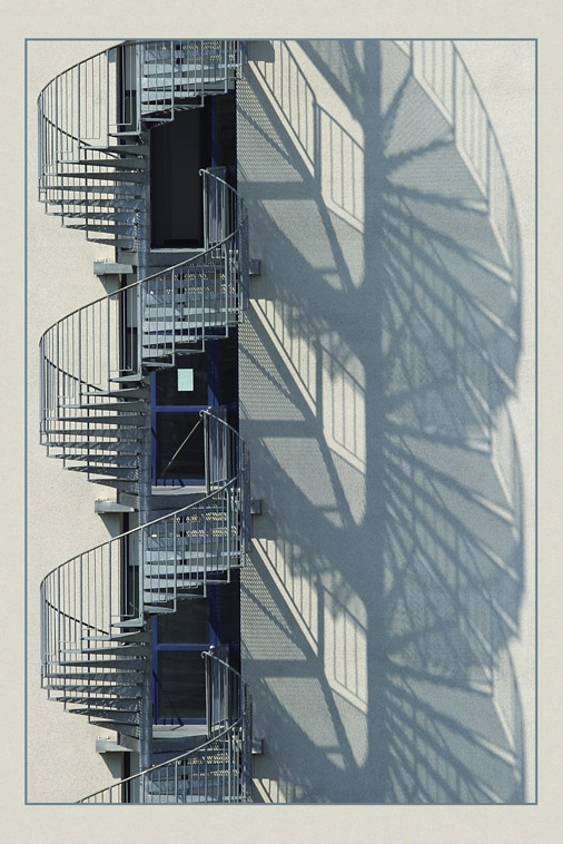 <b>1st Place</b><br><i>Stairs & shadow by Guenther Wittwar</i>