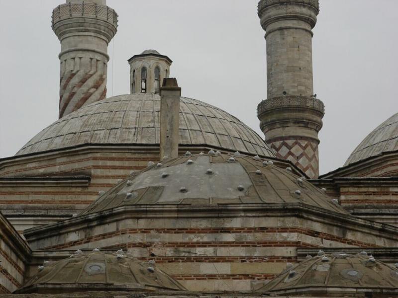 Edirne Üc_Serefeli mosque Sokollu Hamam