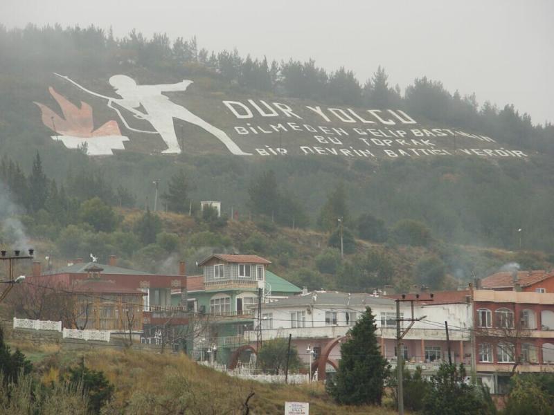 Çanakkale along North Coast Dardanelles Stop Traveller