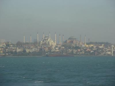 Istanbul Blue Mosque and Haghia Sophia 2003 12 20