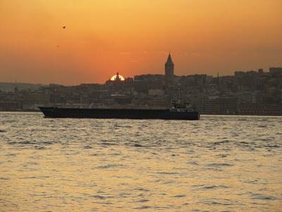 Istanbul Üsküdar and Galata Kulesi 2003 09 09