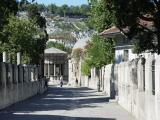 Istanbul Eyüp Mosque graves 2003 09 08