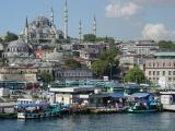 Istanbul view from Galata Bridge