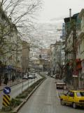 Bursa in snow