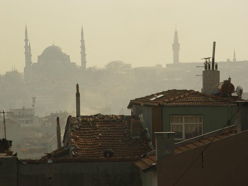 Istanbul from Selim I Mosque 2003 12 11
