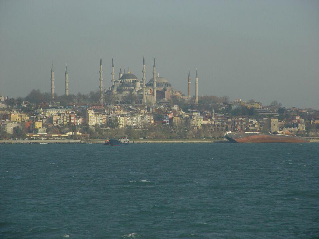 Istanbul Blue Mosque Haghia Sophia 2003 12 20