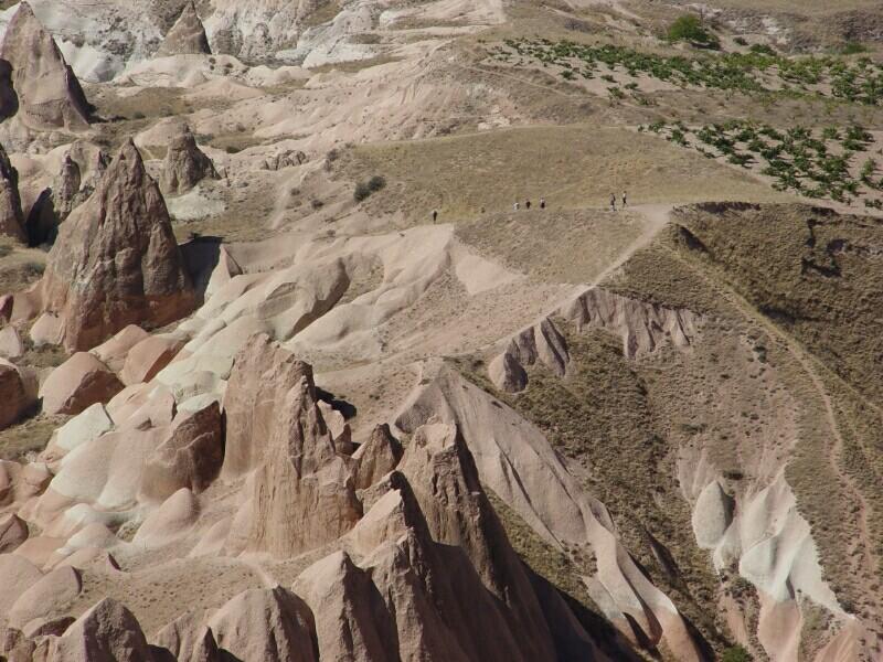 Cappadocia from Aktepe White Hill
