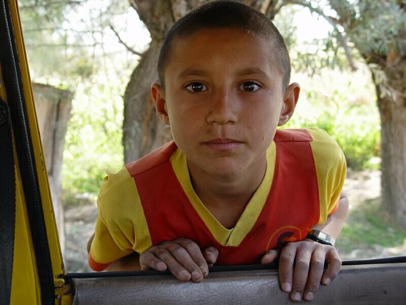 Ihlara on road back Aksaray 2003 9 28