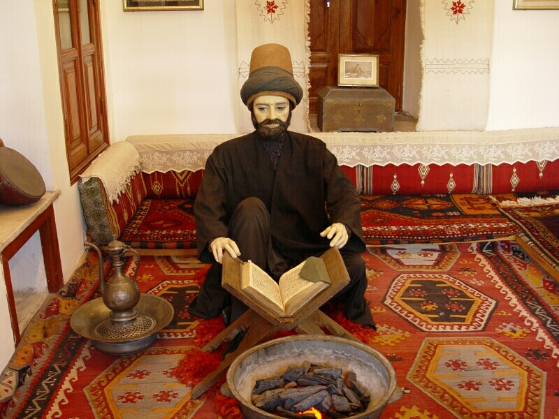 Konya Mevlana Museum 4 2003 september