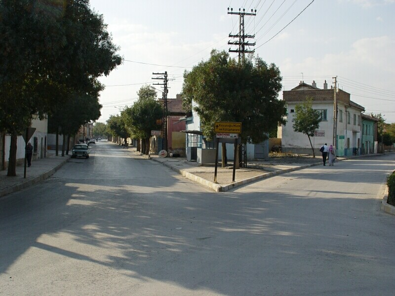 Konya street 2003 september