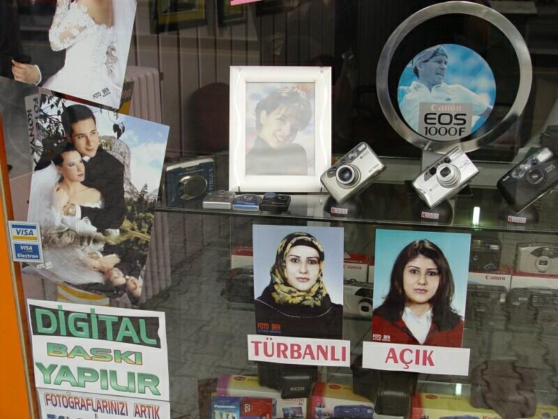 Konya covered uncovered 2003 september