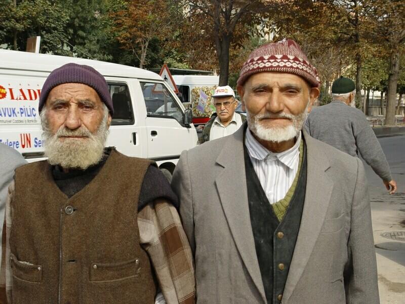Kutahya old men October 2 2003