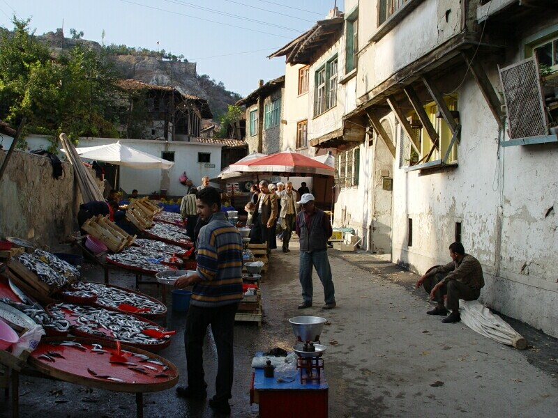 Kutahya market October 2 2003