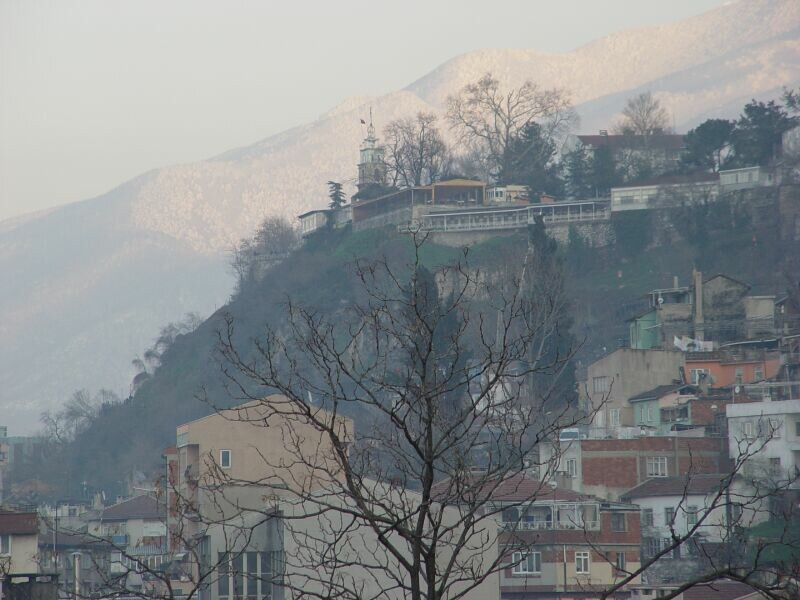 Bursa winter views