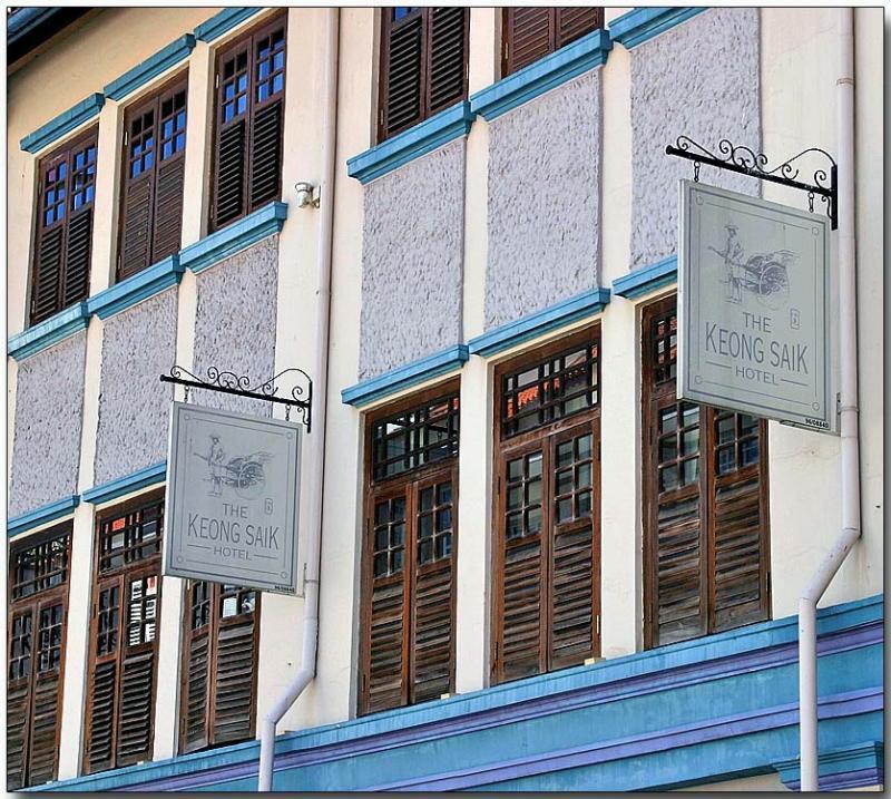 The Keong Saik Hotel, Chinatown