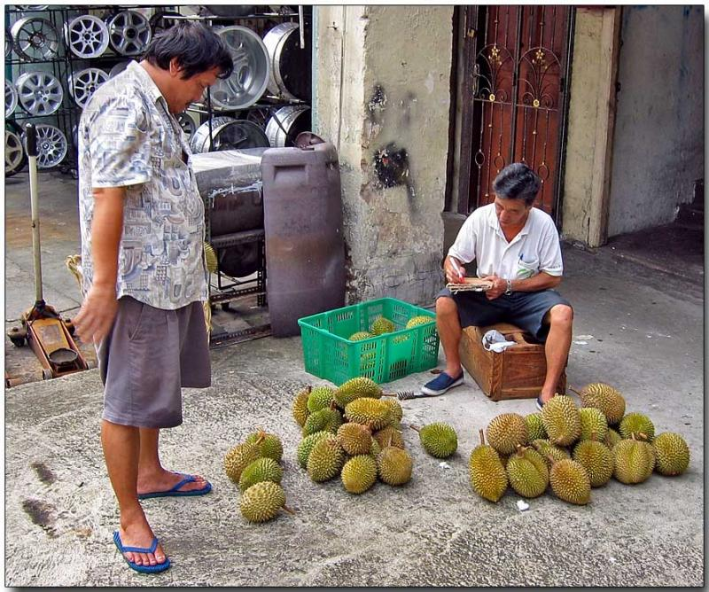 Durian, the King of Fruit