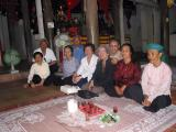 memorial ceremony in a pagode