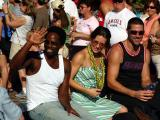 Harold Perrineau Jr.,-Micahel, Evangeline Lilly-Kate, Matthew Fox-Jack  LOST