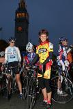Beverley Harper at the start