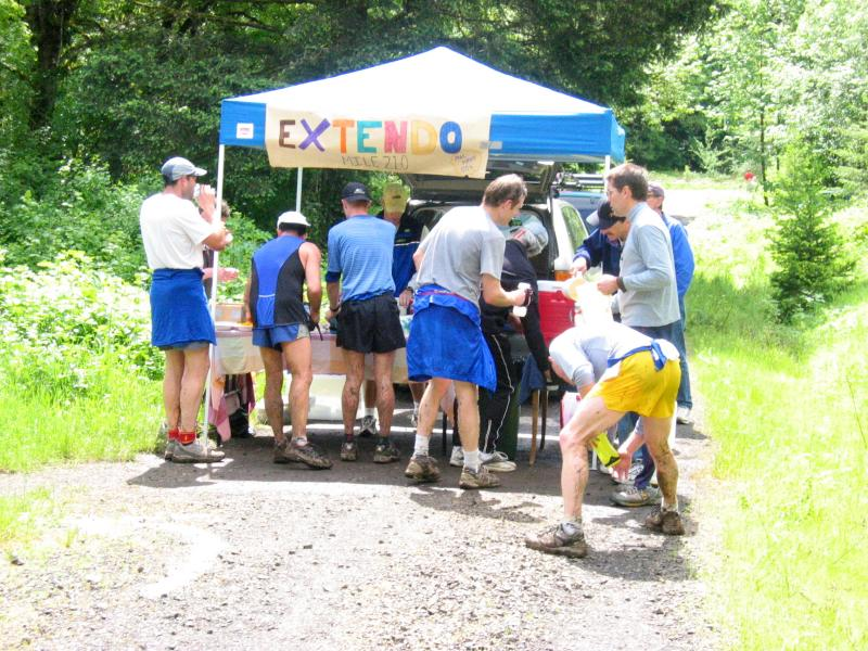 Extendo Aid Station<br>Mile21</br>