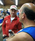 Dave Terry chatting with Jamshid