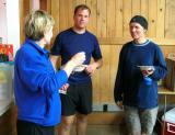 Marlis chats with Scott McCoubrey