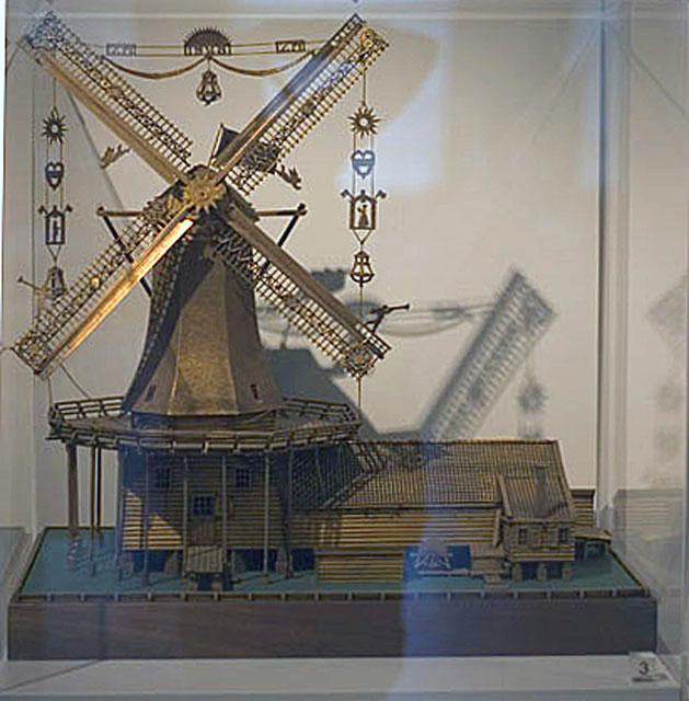 Working windmill model #3