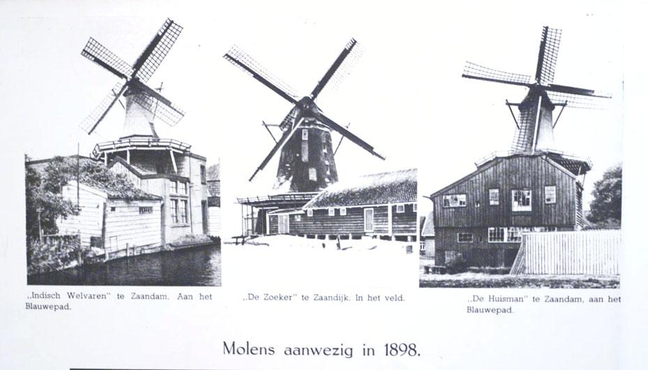 Three mills from 1898