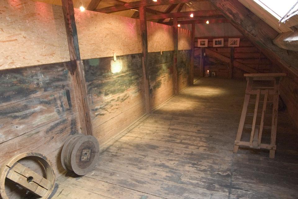 The attic of Molen Bestand