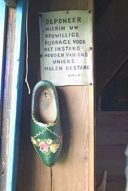Molen Bestands lost shoe