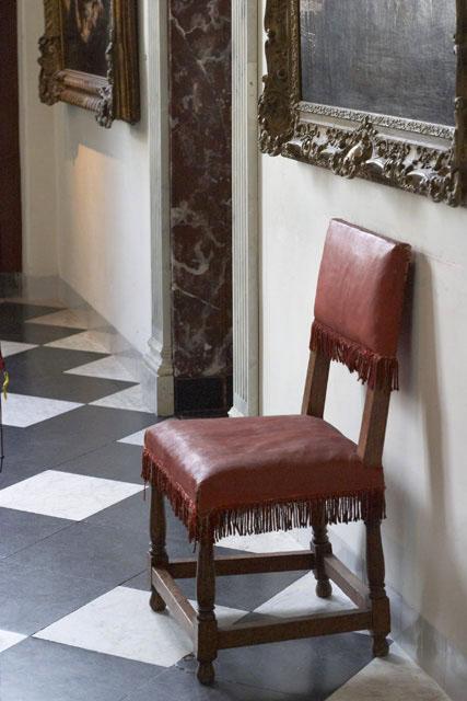 Rembrandt sat here.