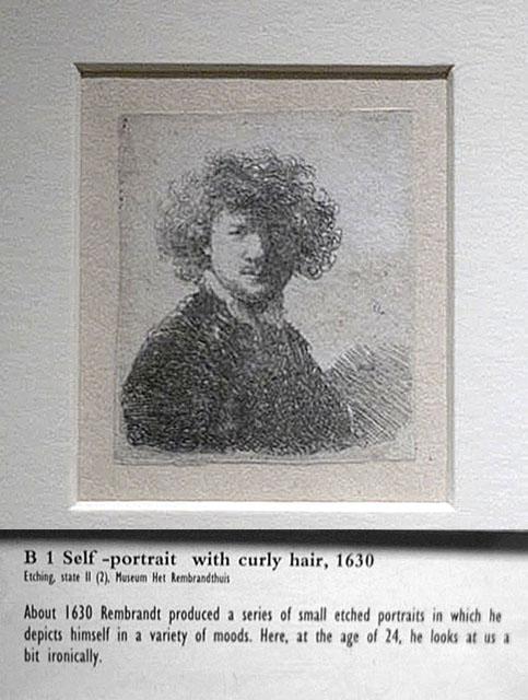 Young Rembrandt (self portrait)