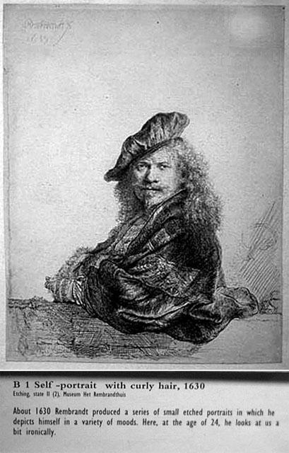 Old Rembrandt (self portrait)