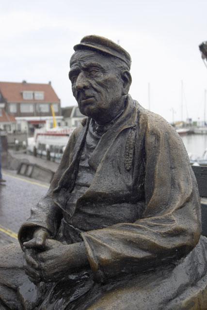 Salty sailor typein Volendam