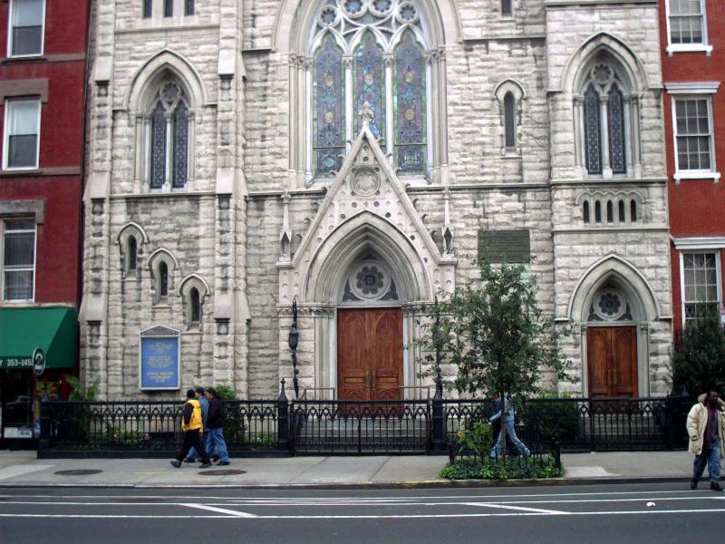 2nd Avenue Middle Collegiate Church near 6th Street