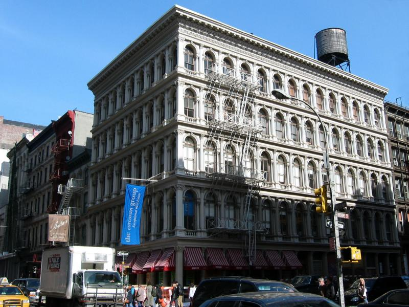 Haughwout Cast Iron Bldg at Broadway &  Broome Streets