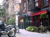 Shops near the Bowery